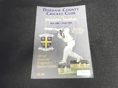 Durham CCC at the Riverside Stadium May 18th-2nd May 1995: Special Edition