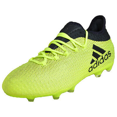 best sneakers 2ae02 9b048 Adidas X 17.1 FG Junior Kids Boys Football Soccer Boots Yellow