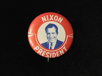 Nixon President 1 1/4 Inch Button Box 9