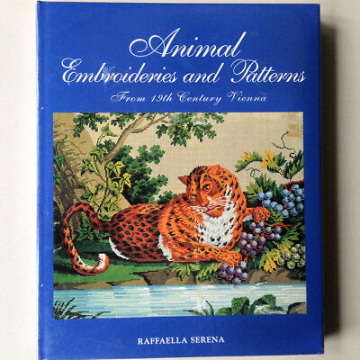 Embroidery Book Animal Embroideries and Patterns by Raffaella Serena
