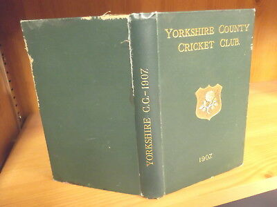 Yorkshire County Cricket Club Yearbook 1907