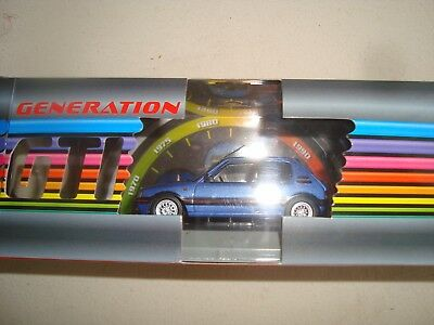 Peugeot 205 Gti 1600 1992 1/43 Generation Gti Form Whitebox