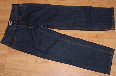 958f327a9 CAT & JACK Boys Blue Jeans Relaxed Straight Leg Dark Wash 26 x 25 SIZE 8