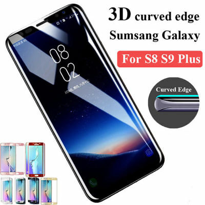 2x For Samsung Galaxy Note8 S8 S9 S7 PLUS Screen Protector Tempered Glass Curved