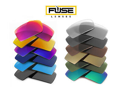 Fuse Lenses Non-Polarized Replacement Lenses for Oakley Twitch
