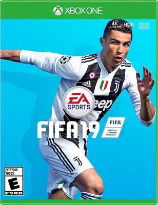 FIFA 19 Xbox One Microsoft XB1 4K HDR 2018 2019 - Soccer game NEW FACTORY SEALED