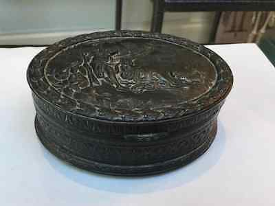 Antique metal american jewery box by the Jenning Brothers