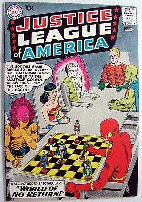 Justice League of America  Volume 1  #1- DC  - Comics