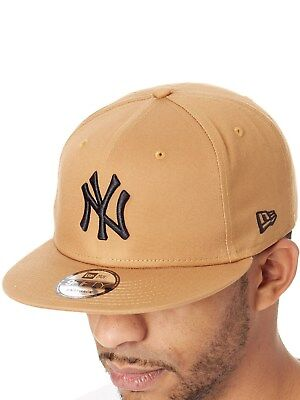 faa8388aa5f0c New Era Wheat-Black League Essential 9Fifty New York Yankees Snapback Cap