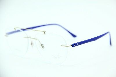 5a93339c085 New Ray-Ban Rb 8749 1193 Blue Authentic Rx Eyeglasses Rb8749 54-14