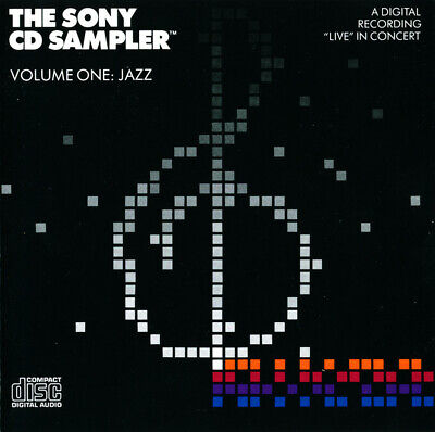 Various ‎– The Sony CD Sampler Volume One: Jazz (SONY Demo PROMO 1983)