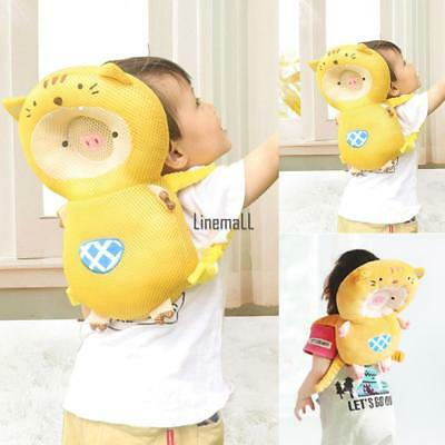 Adjustable Pillow Baby Head Shoulder Mat Cushion Protector Safety Pad LM