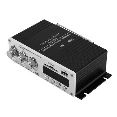 LP-A7USB 2x35W Digital Hi-Fi Audio Power Amplifier with Remote/USB/MP3/MMC/SD/FM
