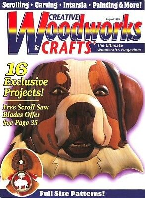 Creative Woodworks & Crafts Magazine Collection Dvd-Rom