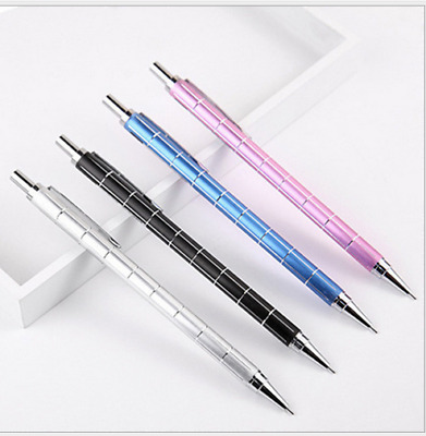 6PCS Great Personalized Mechanical Pencils Automatic Pencil Set Gift(0.5mm lead)
