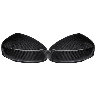 New Real Carbon Fiber Side Mirror Covers Caps Fits For Nissan 350Z 2003-2008
