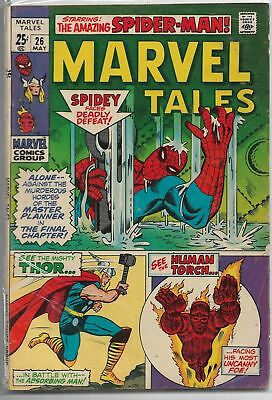 Marvel Tales #26 Marvel 1970 Bronze Age Comic Book FN/FN+ (Spider-Man/Thor+)