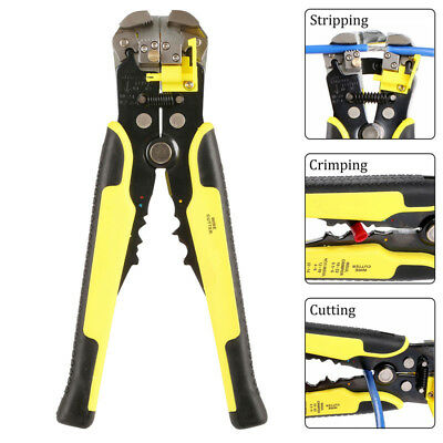 Cable Wire Stripper Cutter Crimper Automatic Multifunctional Plier Electric New