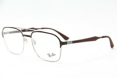 12faaea1367ee NEW RAY-BAN RB 6404 2912 Brown Authentic Rx Eyeglasses Rb6404 54-18 ...