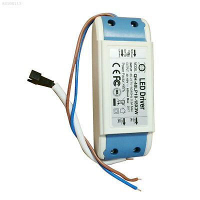 BCD7 Constant Current Driver Supply For 12-18pcs 3W LED Light AC85-265V 40w 600m
