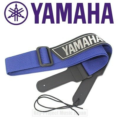 YAMAHA SP-1 Blue For Guitar Bass Strap Polypropylene & Leather New From Japan