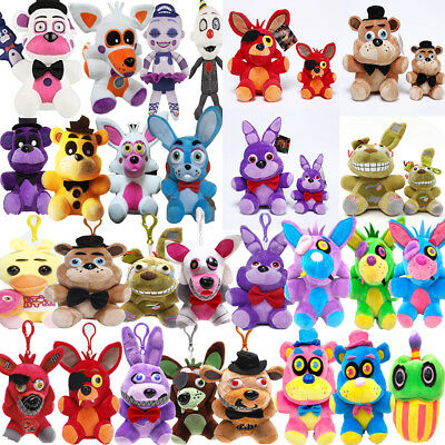 "Five Nights at Freddy's FNAF Horror Game Plush Doll Kids Plushie Toy 4.7"" 7""10"""