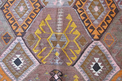 Antique Hand Knotted Soft Wool Vegetable Dyed Turkish Rug