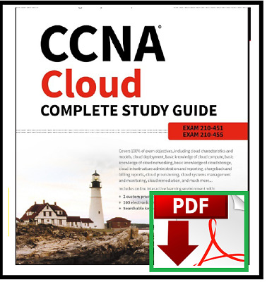 CCNA Cloud Complete Study Guide : Exam 210-451 and Exam 210-455 [2018 ]
