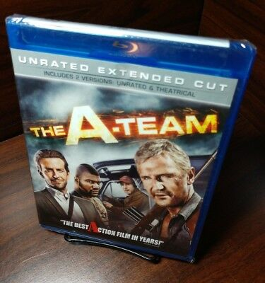 The A-team (Blu-ray,Unrated Extended Cut) NEW-Free First Class S&H with Tracking