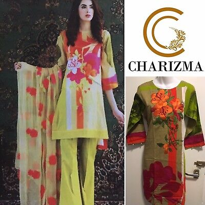 Charizma Khaddar Shalwar Kameez-Embroidered-3 Pieces-Stitched