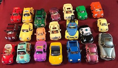 Huge Lot of 21 Chevron Cars - Taxi Rolls Royce Tow Truck Volkswagen Sports Cars