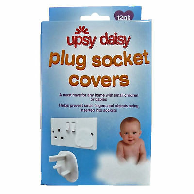 Home Safety Plug Socket Covers Baby & Child Proof Protector Guard Easy to Use