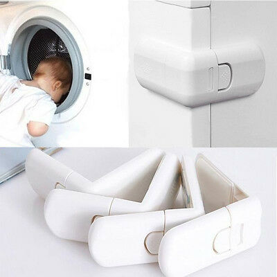 Kids Child Baby Petof Door Cupboard Fridge Cabinet Drawer Safety Lock QA