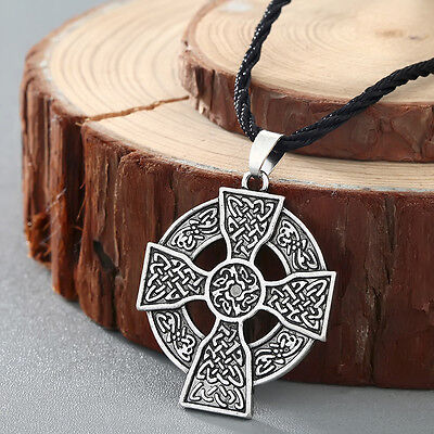 Armenian cross Pendant Boho Necklace Solar Cross Celtics Armenian Druid Amulet