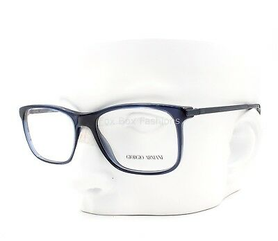 4069128d3eb GIORGIO ARMANI AR 7087 5358 Eyeglasses Frames Glasses Transparent Dark Blue  54mm