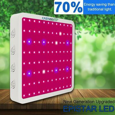 CASTNOO 800W LED Grow Light Panel Lamp Hydroponic Plant Growing Full Spectrum UP