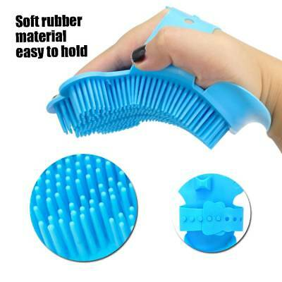 Silicone pet brush Glove Pet Grooming Dog Cat Bath Pet cleaning Supplies
