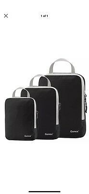 Gonex Packing Cubes,Travel Packing Organizers Luggage Compression Bags/pouch B26