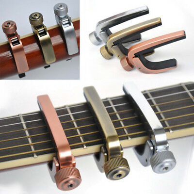 New Guitar Capo /Key Clamp For Acoustic Electric Guitar Bronze Strong Stability