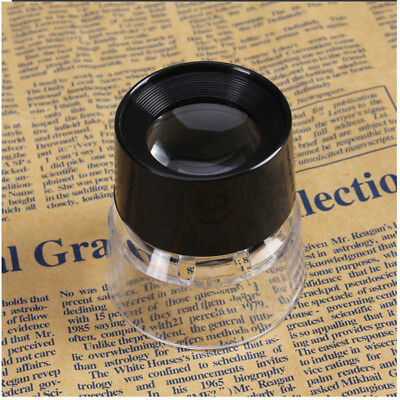 Camera Magnifier Optical Glass 10X Magnifier Loupe Negative Slide Photo Viewer