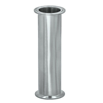 "HFS(R) S304-8x48"" Flow Sanitary High Grade Stainless Steel 304 Pipe, Length 48"""