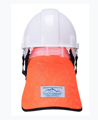 Portwest Cooling Crown with Neck Shade Safety Heat Protection Orange/Blue CV03
