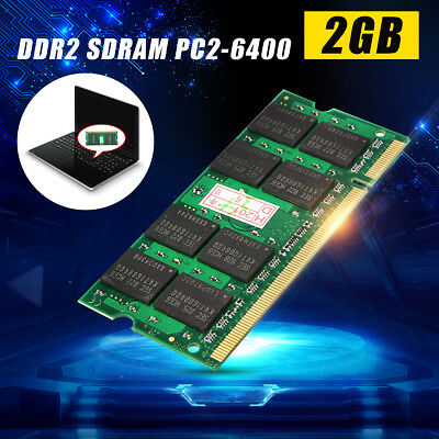 4GB DDR2 RAM PC2-6400 200-pin SO-DIMM 800 MHz Laptop Unbuffered Memory Notebook