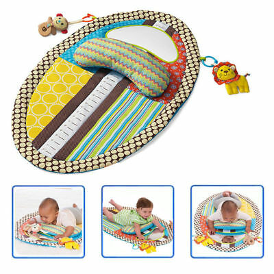 Learning Baby Height Game Blanket Play Carpet Serviceable Kid Mat Mirror Toy HM