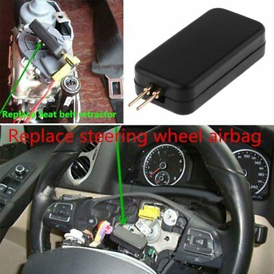 Black Car SRS Fault Finding Diagnostic Airbag Simulator Emulator Resistor Bypass