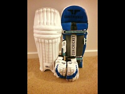 Cricket Batting Gloves and Batting Pads COMBO Mens Right Hand