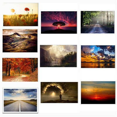 Natural Landscape Canvas Poster Art Painting Living Room Home Picture Wall Decor
