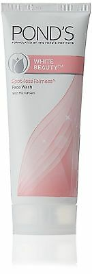 Pond's White Beauty Daily Spotless Lightening Facial Foam 100g Free Shipping