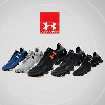 Under Armour Scorpio 2 Mens Black Running Road Sports Shoes Trainers