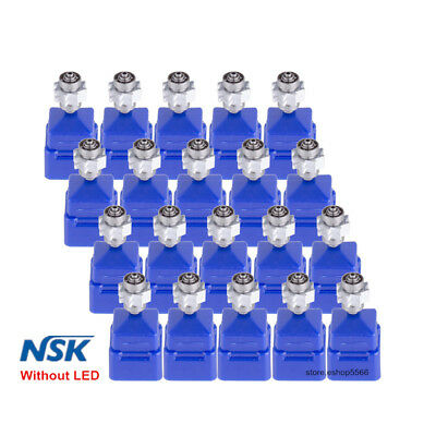 20PCS Dental Turbine Push Cartridge for NSK High Speed Handpiece Without LED